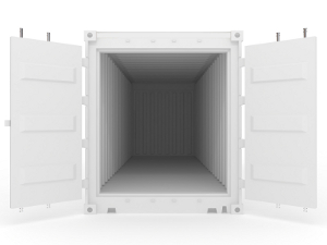 White Storage Container